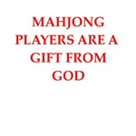 a funny mahjong joke on gifts and t-shirts