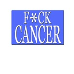 """""""F*CK CANCER"""" Shirts and Apparel"""