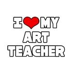 I Love My Art Teacher