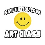 Smile if You Love Art Class