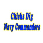 Chicks Dig Navy Commanders