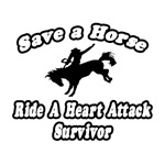Save Horse, Ride Heart Attack Survivor