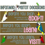 Making Informed Parrot Decisions