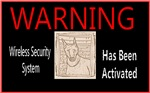 WARNING - Wireless Security System