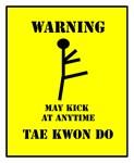 Taekwondo Warning