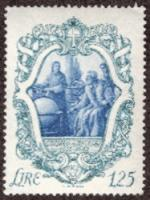 Galileo in Arcetri 1942 Italian Stamp