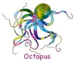 Octopus, Whales & Coastal T-Shirts