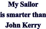 My Sailor is Smarter than John Kerry Design