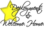 Navy Deployments & Welcome Home Section