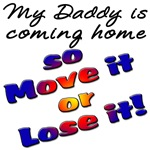 My Daddy is coming home