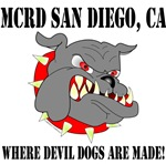 MCRD San Diego, CA Where Devil Dogs are made