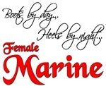 Boots By Day Heels By Night Female Marine