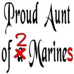 Proud Aunt of 2 Marines