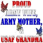 Army Wife, Army Mom, USAF Grandma