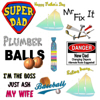 NEW! Father's Day Designs 2007