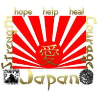 Japan Earthquake & Tsunami Relief T-Shirts Apparel