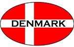 Denmark Stickers