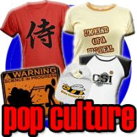 pop culture t-shirts & gifts