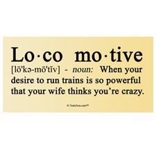 Definition of Locomotive