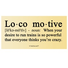 2nd Version of Definition of Locomotive