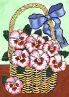 Pansy Greeting Cards
