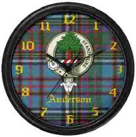 Clan Crest Clocks