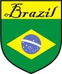 Brazil Flag / Brazil Shield / Crest