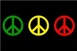PEACE SIGNS REGGAE Shirts and gifts