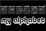 MY ALPHABET (CHORDS) T-Shirts