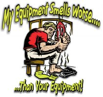 Smelly Equipment Hockey T Shirts