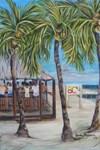 BCs Beach Bar cards and aprons