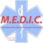 MEDIC - No Carrying!