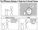 Geek vs Normal