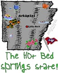 AR - The Hot Bed Springs State!