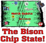ND - The Bison Chip State!