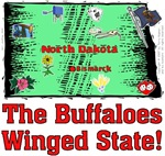 ND - The Buffaloes Winged State!
