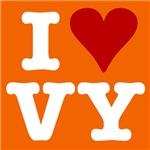 I HEART VY ORANGE