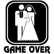 Wedding Icon: Game Over