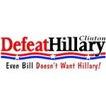 Defeat Hillary (even Bill)