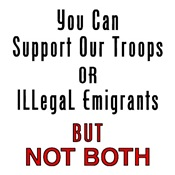 Support Our Troops or Illegals