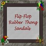 FLIP FLOP RUBBER SANDALS