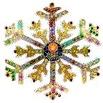 Sparkly Art Snowflake