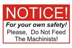 Notice / Machinists