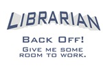 Librarian / Back Off