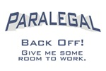 Paralegal / Back Off