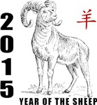 Year of The Sheep 2015 T-Shirts Gifts