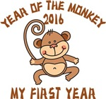 Born Year of The Monkey 2016 T-Shirts Gifts
