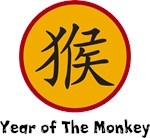 Year of The Monkey Sign T-Shirts & Gifts