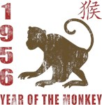 1956 Year of The Monkey T-Shirts & Gifts