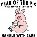 New Piggy 2007 T-Shirt and Gifts